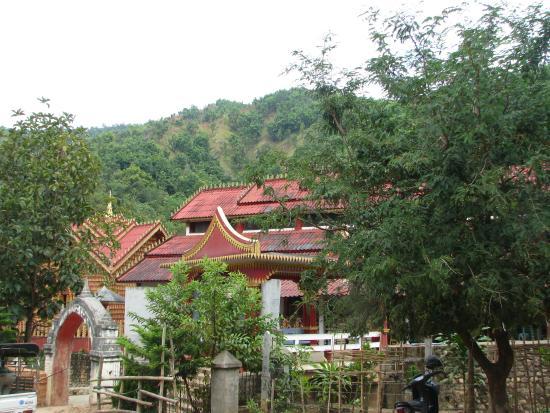 Kengtung, Myanmar: le monastère