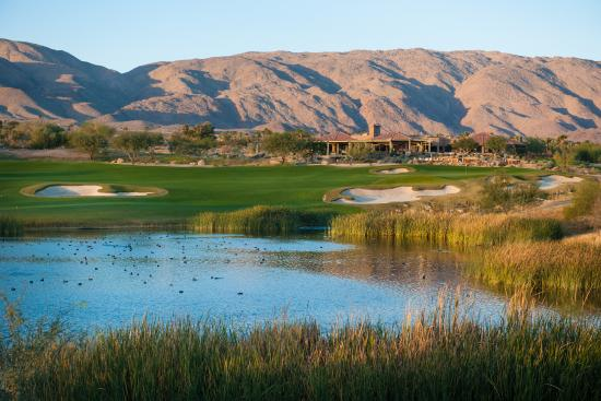 Borrego Springs, Californië: #18 a great finishing par 5.