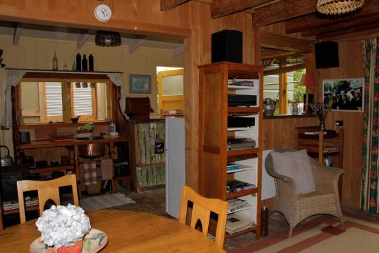 The Flying Fox: Cottage interior