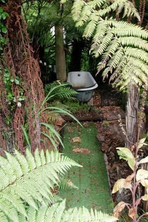 Wanganui, Nueva Zelanda: Bush bath