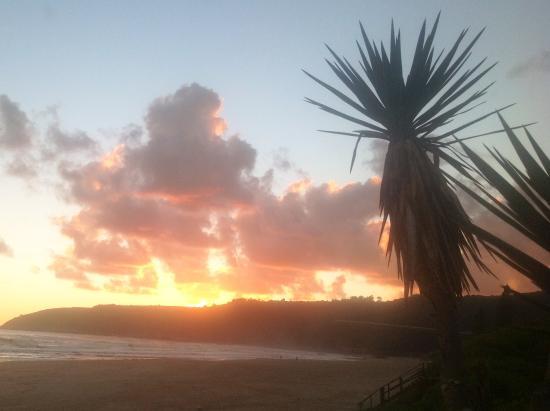 Wilderness, Afrika Selatan: Sonnenuntergang