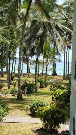 Diani Sea Resort: view from balcony