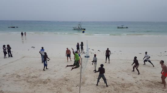 Diani Sea Resort: beach volleyball