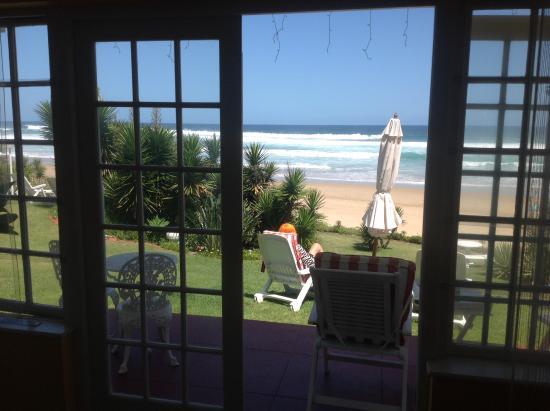 Haus am Strand: Toller Blick