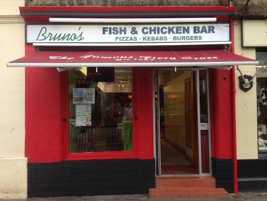 Callander, UK: BRUNO`S FISH BAR