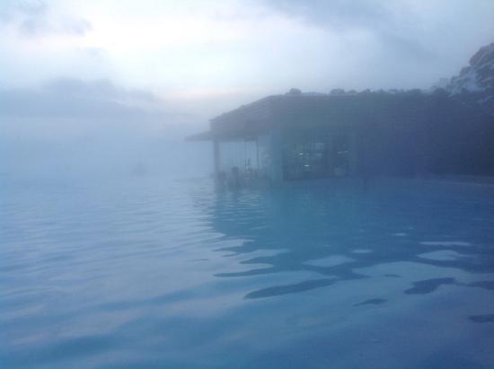 Grindavik, Island: Pool side bar blue lagoon