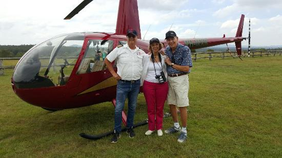 Ipswich, Australia: Pterodactyl Helicopters - Scenic Flights and Tours