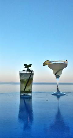 Kastos Island, Greece: Mojito and Margarita