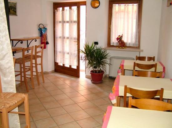 Cavaion Veronese, Italia: Sala colazioni n1