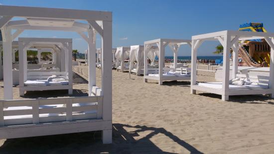 Strandbetten in warnem nde bild von warnem nde for Hotel in warnemunde direkt am strand