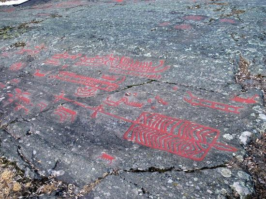 Himmelstalund rock carvings