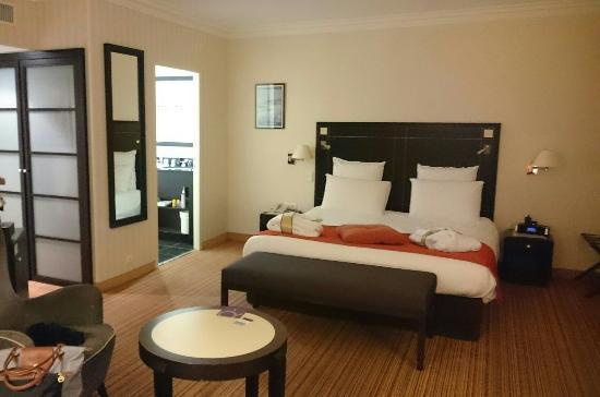 belle chambre avec vue photo de mercure la baule majestic la baule escoublac tripadvisor. Black Bedroom Furniture Sets. Home Design Ideas