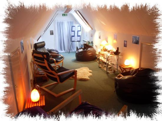 Thame, UK: Crystal Shop - Teaching Rooms