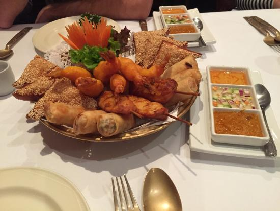 Welcome House Thai Cuisine: Mixed Starter