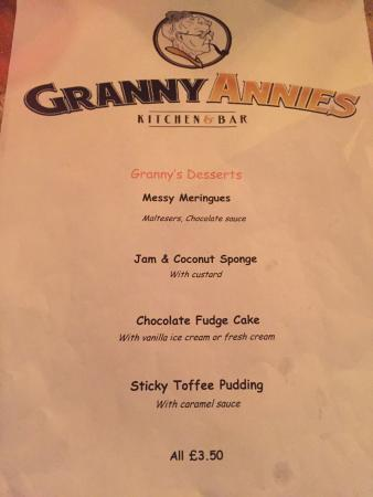 Limavady, UK: First time in Granny Annie's for my wife and myself and we visited with friends that had been a