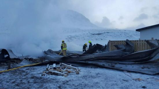 Budardalur, Islandia: Unfortunately a large portion of this guesthouse burned down in the early hours of Jan 31 2016.
