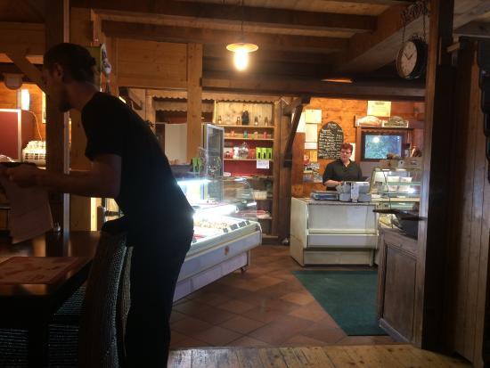 La Giettaz, Francja: La boulangerie restaurant