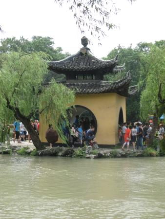 Yangzhou, Chine : Packed with people
