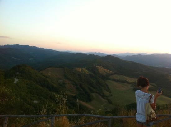 Casola Valsenio, Italy: vista da monte battaglia