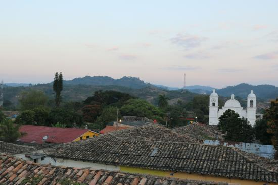Hotel Real Camino Lenca: view from the roof
