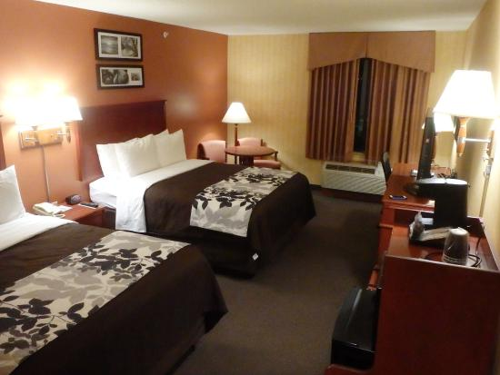 Ashland, VA: Nice big room