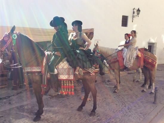 Montejaque, España: Nearby Rhonda, festival