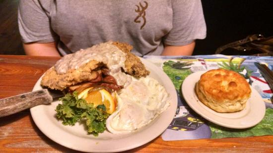 Hernando, FL: Country Fried Steak. Plentiful and delicious