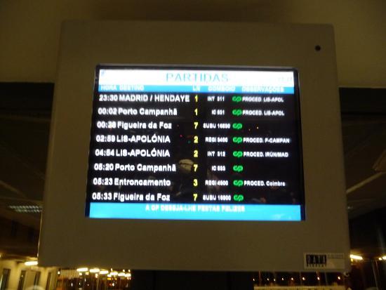 Madrid to Lisbon Trenhotel - YouTube