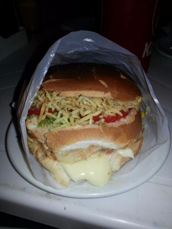 Alcobaça, BA: sanduiches
