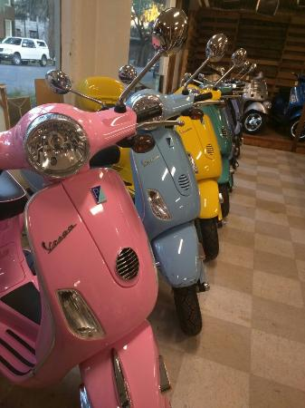 Motorini Vespa Savannah