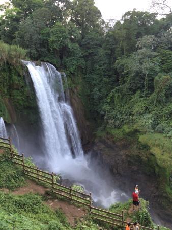 Pulhapanzak Waterfall, Honduras Central America