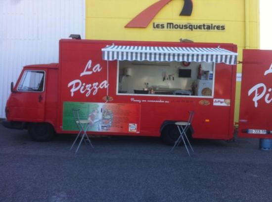 """La Pelle du Goût : Le camion """"La Pizza"""""""
