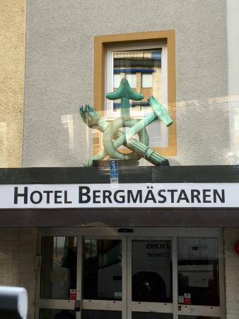 Falun, Sverige: Entrance to Hotel
