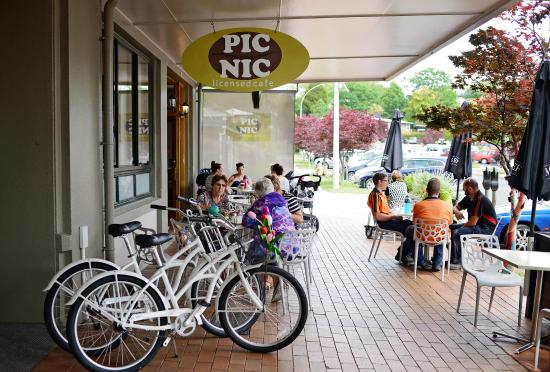 Image result for picnic cafe