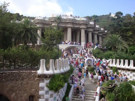 Salamandra G Ell Park Picture Of Park Guell Barcelona