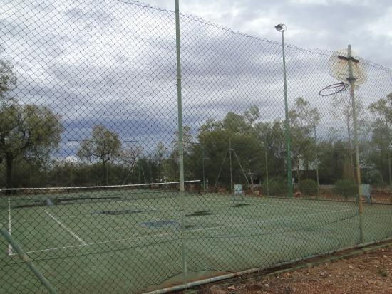 Kings Canyon, Australia: Campo da gioco