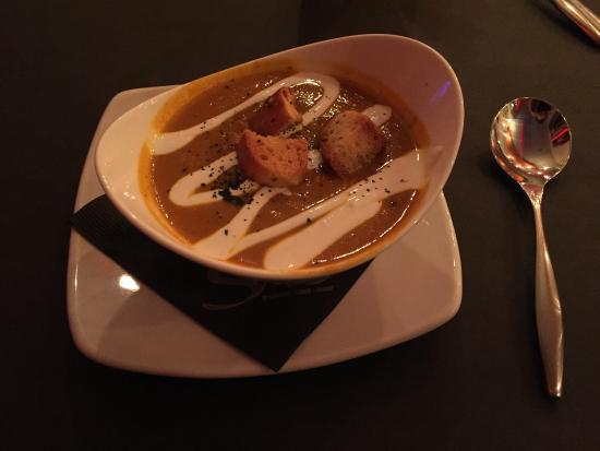 Peoria Heights, IL: Carrot soup with curry