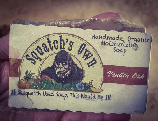 "Bailey, Колорадо: This was a really cool place to visit. We bought a lot of ""Squatchy"" things such as this soap (p"