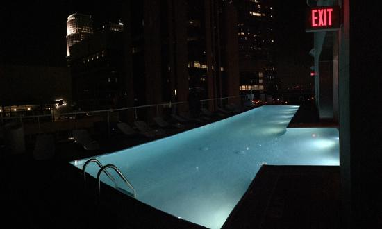 rooftop pool by night picture of the standard downtown la los rh tripadvisor ca