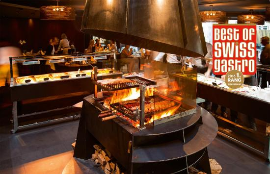 Stansstad, Suiza: Rio Churrasco 1.Rang Best of Swiss Gastro