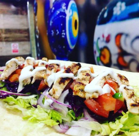 Fillet Wrap at Uni Kebab