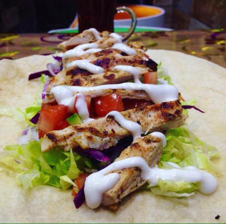 100% chicken Fillet at Uni Kebab