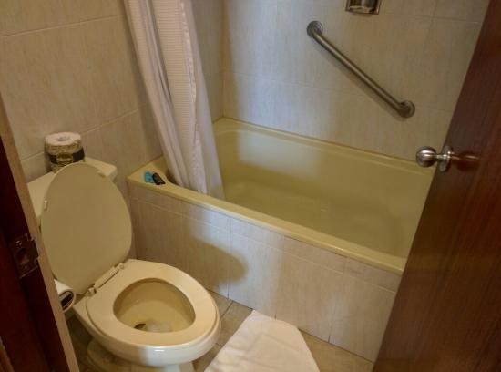 Baño De Tina Con Ruda:Baño aseado y cómodo, con tina de baño – Picture of Crowne