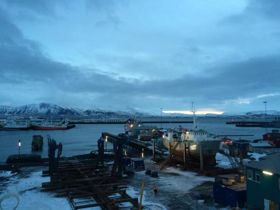Icelandair Hotel Reykjavik Marina: View from our room