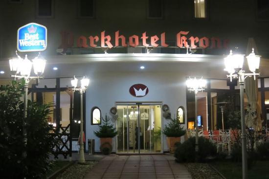 Bensheim, Tyskland: BEST WESTERN Parkhotel Krone