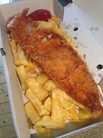 Newmachar, UK: Finest fish supper in Grampian