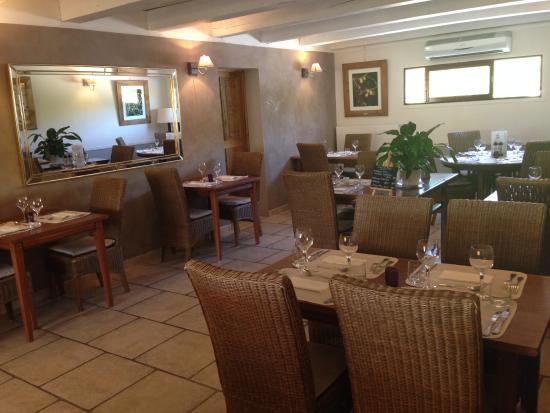 Les Terrasses de la Bastide : salle 1 du restaurant