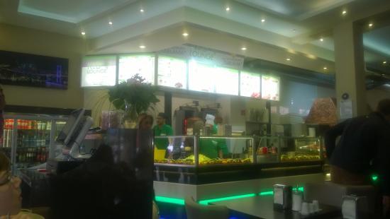 Kebap Lounge: Offene Küche