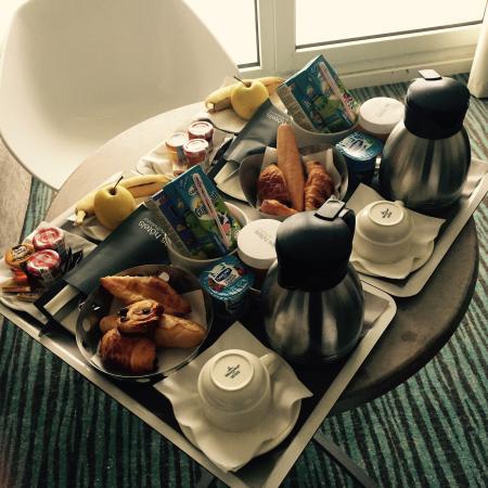 Hotel Cordouan : Petit déjeuner complet !