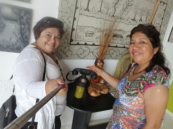 Hostel La Casona Rio Grande : De visita en La Casona